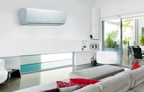 climatización en el hogar