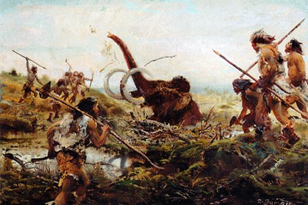 Las mujeres durante la prehistoria también cazaban grandes animales